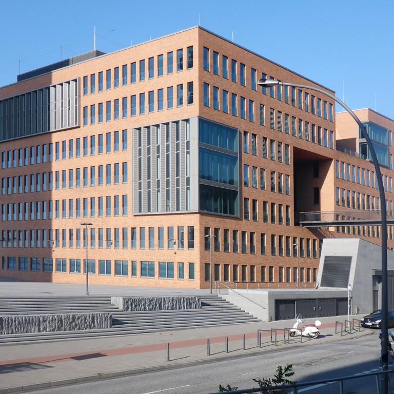Christina Goretzko Architektur Neubau Bürogebäude West, Holzhafen Hamburg